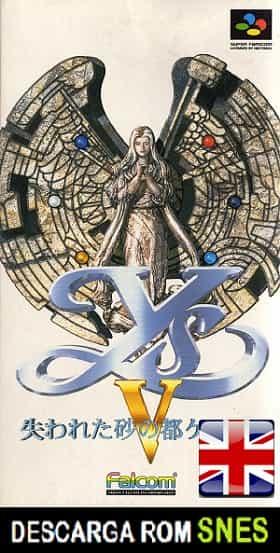 Ys V Ushinawareta Suna no Miyako Kefin RPG (Ingles)  v. TENG agtp en INGLES descarga directa