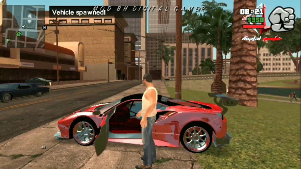 Gta 5 Lite Mod with High Graphics For Android in only 500 Mb