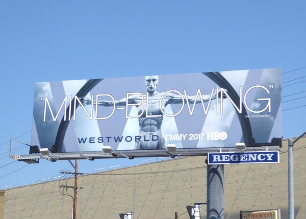 Westworld season 1 Mind-blowing Emmy FYC billboard