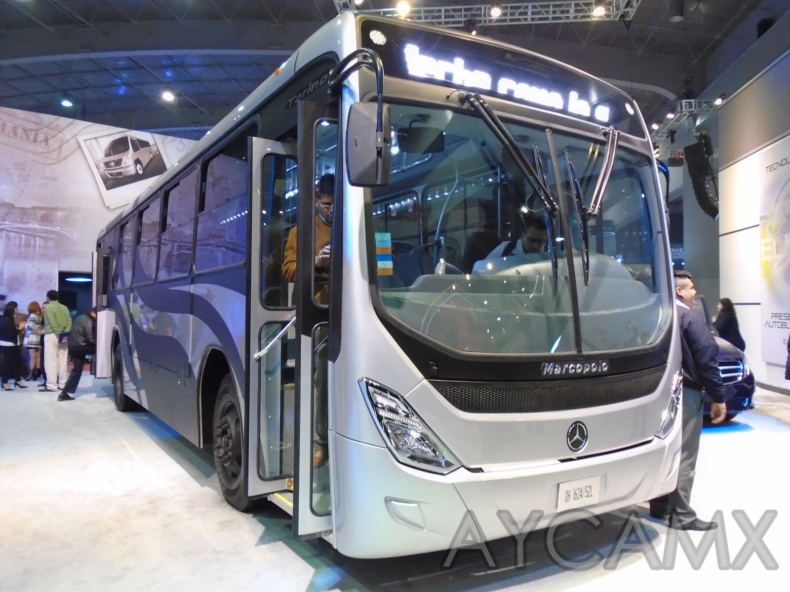 Aycamx autobuses y camiones m xico expo foro 2016 2 for Mercedes benz ohio