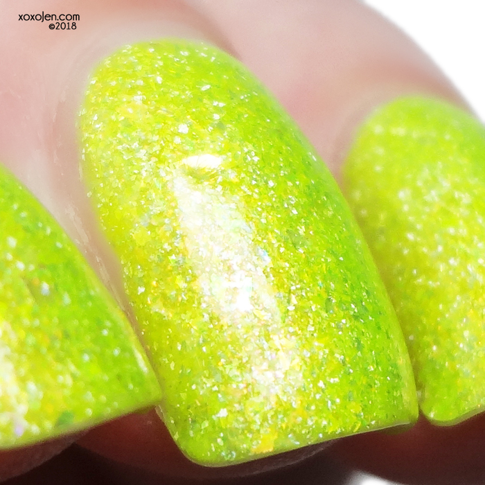 xoxoJen's swatch of Pahlish Shy-Guys on Stilts