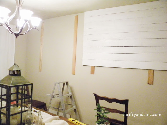 building planked walls
