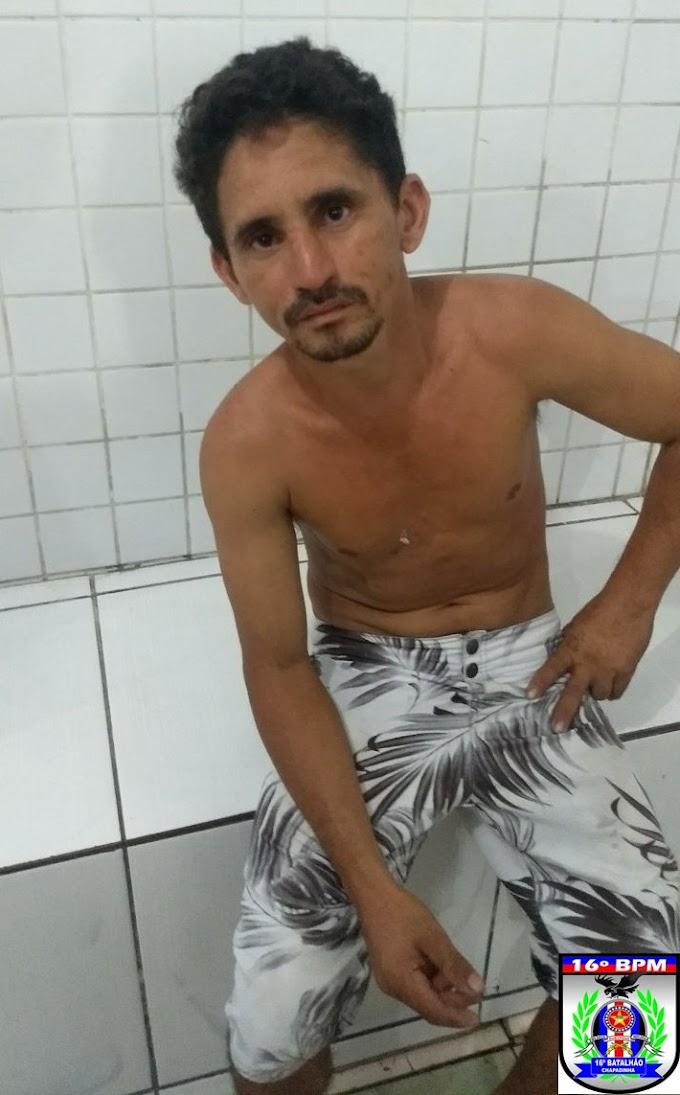 Homem tenta matar outro no bairro Aparecida e é preso pela Polícia, Chapadinha.