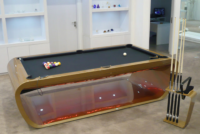 Black Light Billiard Tables By Toulet Tons Of Colors And
