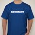 KDSHREDZ BLUE T-SHIRT