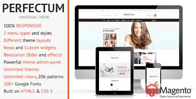 Perfectum – Premium Responsive Magento theme