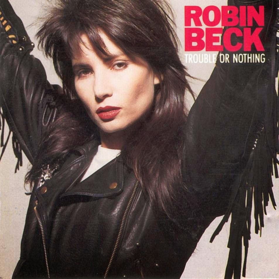 Robin Beck Trouble or nothing 1989 aor melodic rock