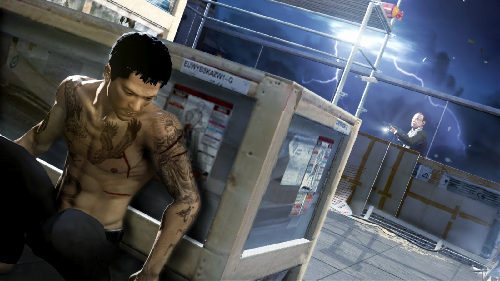 All About Football Wallpaper Sleeping Dogs