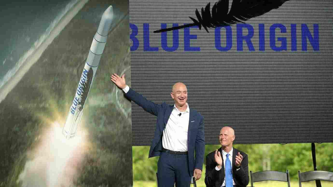 Jeff Bezos Blue Origin successfully deal with ULA