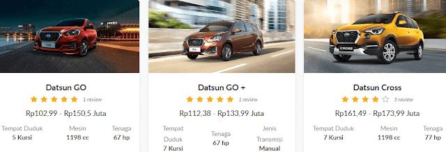 Review Spesifikasi Dan Harga Datsun Go di Indonesia