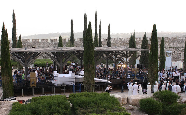 PROPHETIC TURNING POINT: Passover Sacrifice Carried Out At Foot Of Temple Mount