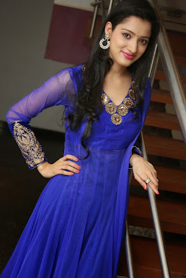 Richa Panai Latest Stills in Blue Dress