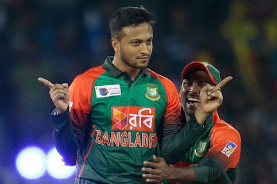 shakib al hasan celebration
