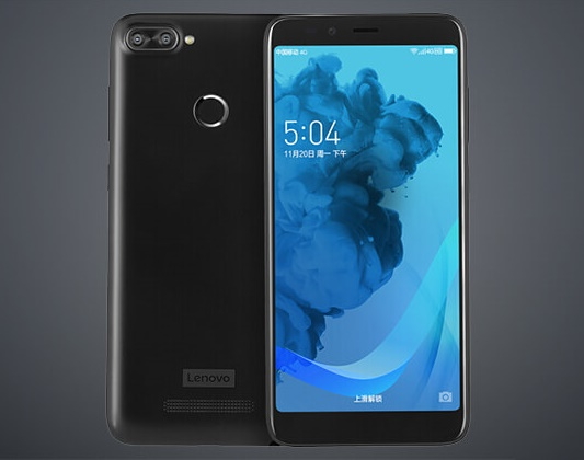 Lenovo K320T With Full View Display and Dual Cameras