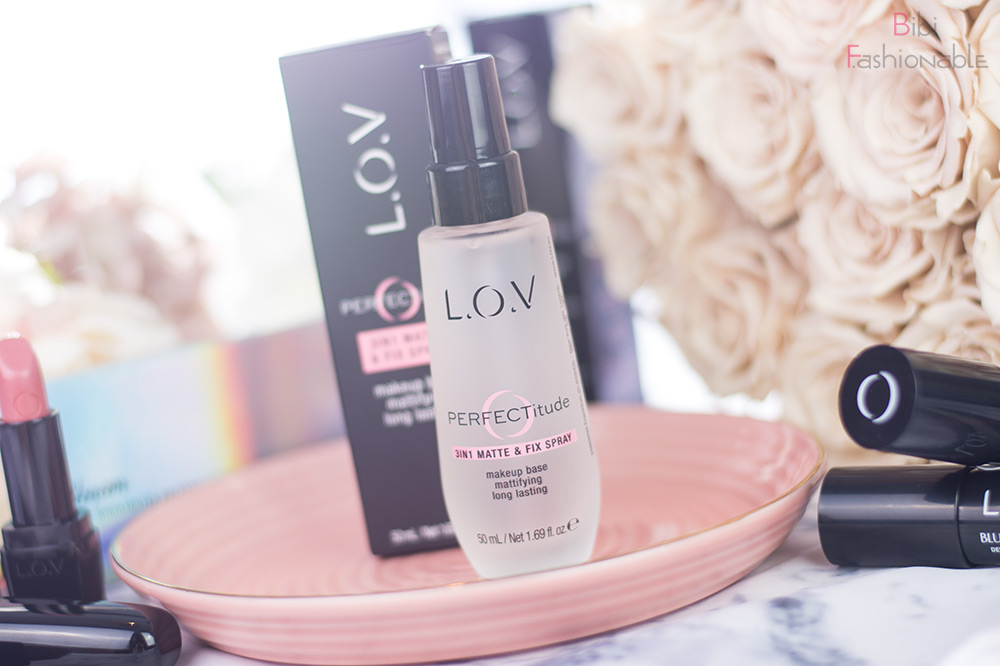 LOV Cosmetics Perfectitude 3in1 Matte und Fix Spray