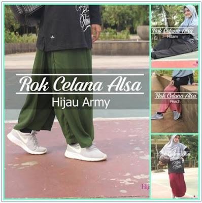 rok celana hijab