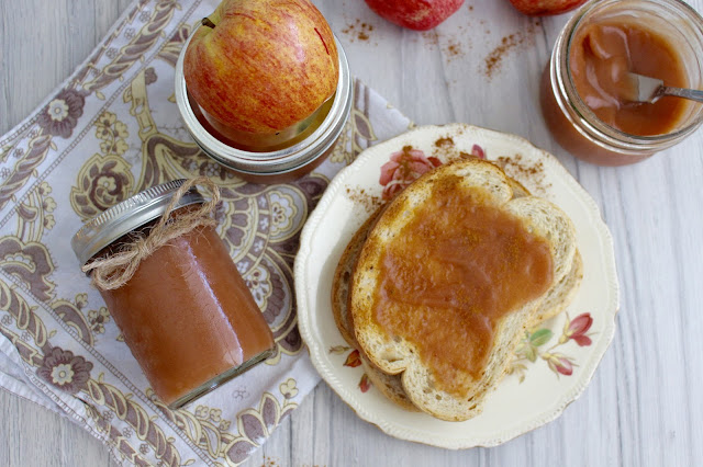 Homemade Apple Butter recipe via A Slice of Brie