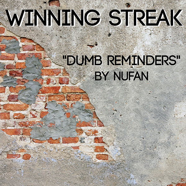 """Winning Streak cover No Use For A Name's """"Dumb Reminders"""""""