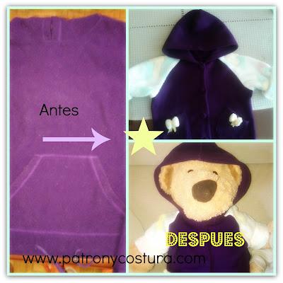 www.patronycostura.com/transformarunpolarenchaquetabebé