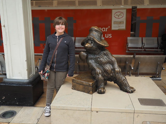 Paddington statue