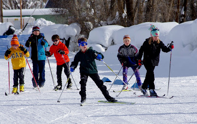 Cashie's First Nordic Combined Competition