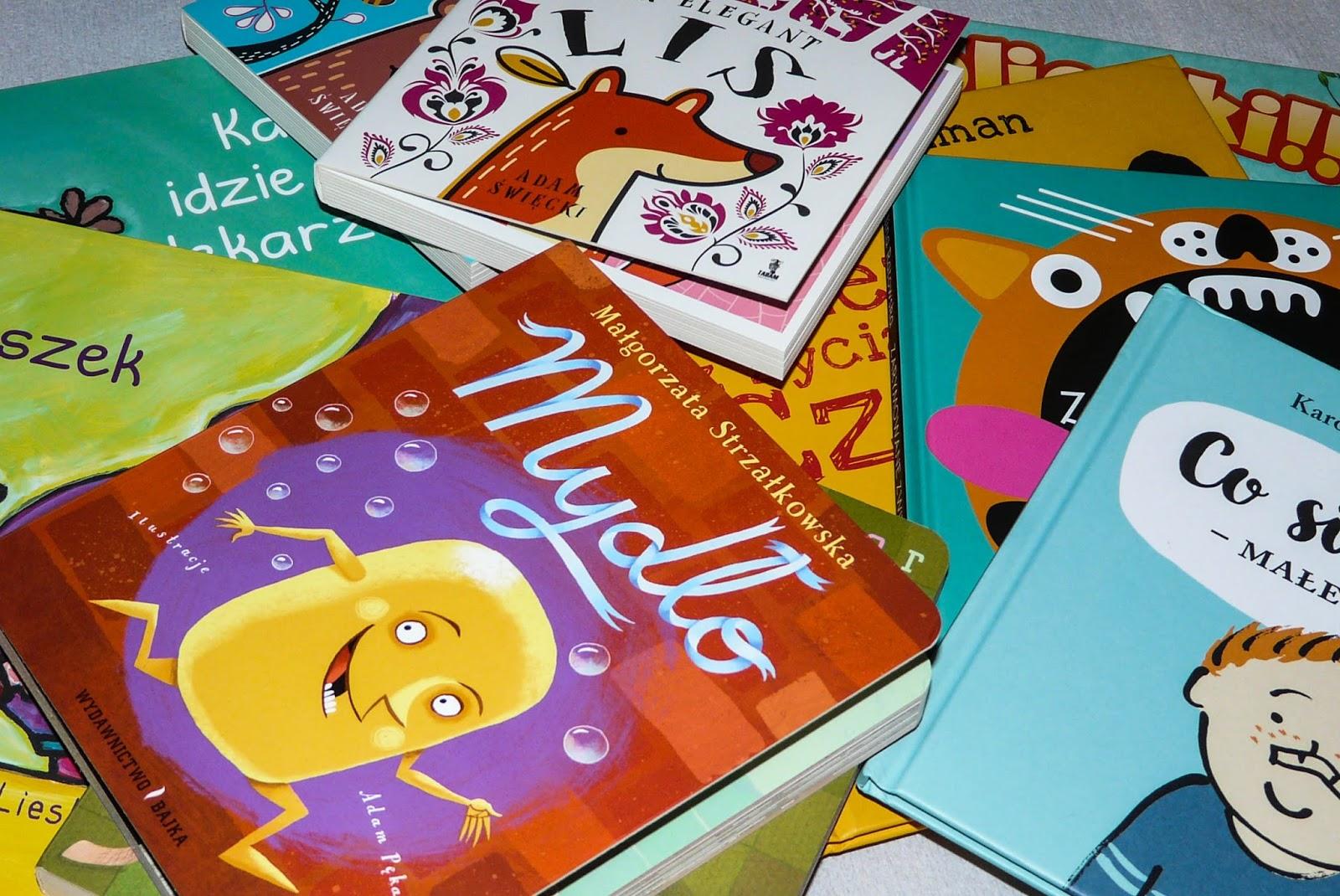 co czytać dwulatkom, książeczki kartonowe, pierwsze komiksy, pierwsze książki dla dzieci