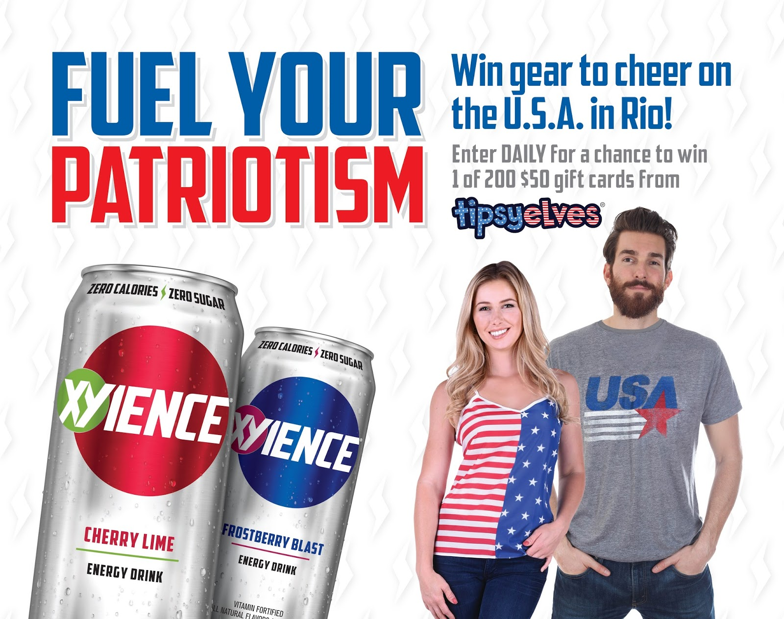 Xyience Energy Drink Promo