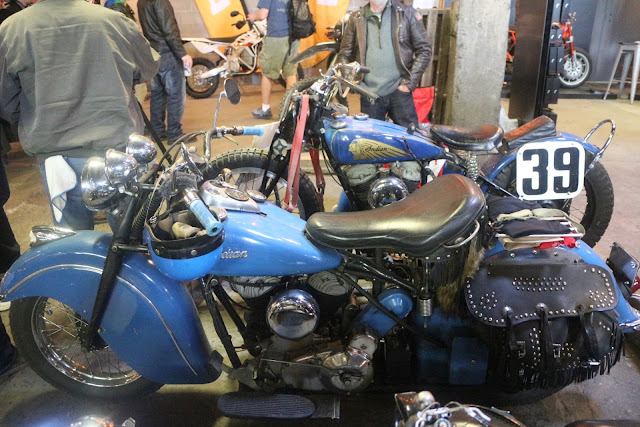 the one moto show number 9 custom build motorcycle indiam motorcycles