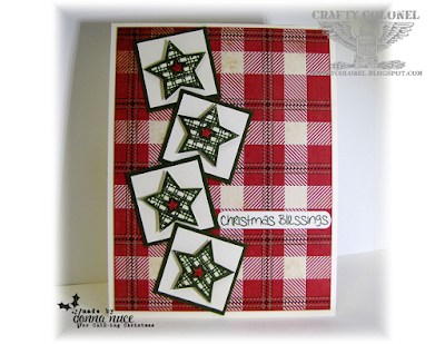 Crafty Colonel Donna Nuce, for CASE-ING Christmas, Paper Sweeties Stamps