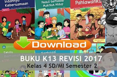 Download Buku Kurtilas Revisi 2017 untuk Kelas 4 SD/MI