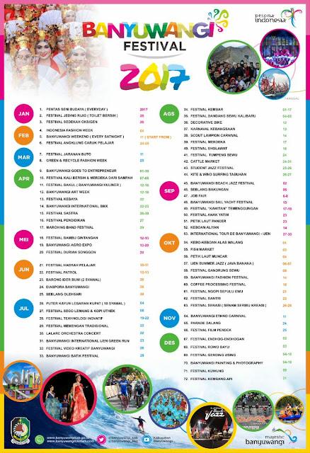 Agenda banyuwangi 2017, wisata banyuwangi 2017, bfest 2017, event baru 2017