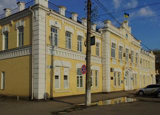 Миргород. Бывшая городская Дума. 1912 г. Районная администрация
