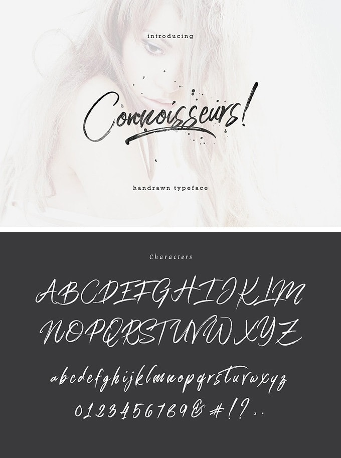 Font Edisi April 2017 - Connoisseurs Typeface
