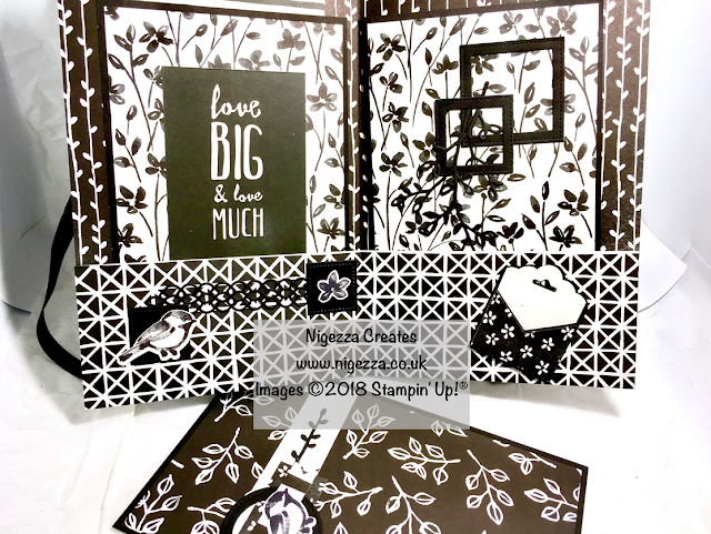 Stampin' Up!® Scrapbook Album using 4 sheets of 12x12 Petal Passion Paper