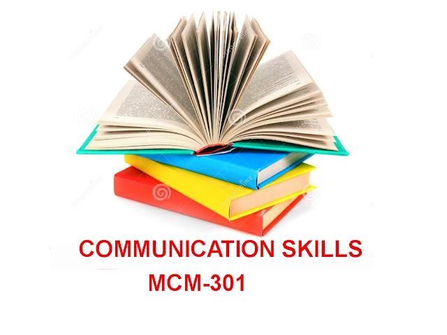 communication skills mcm301