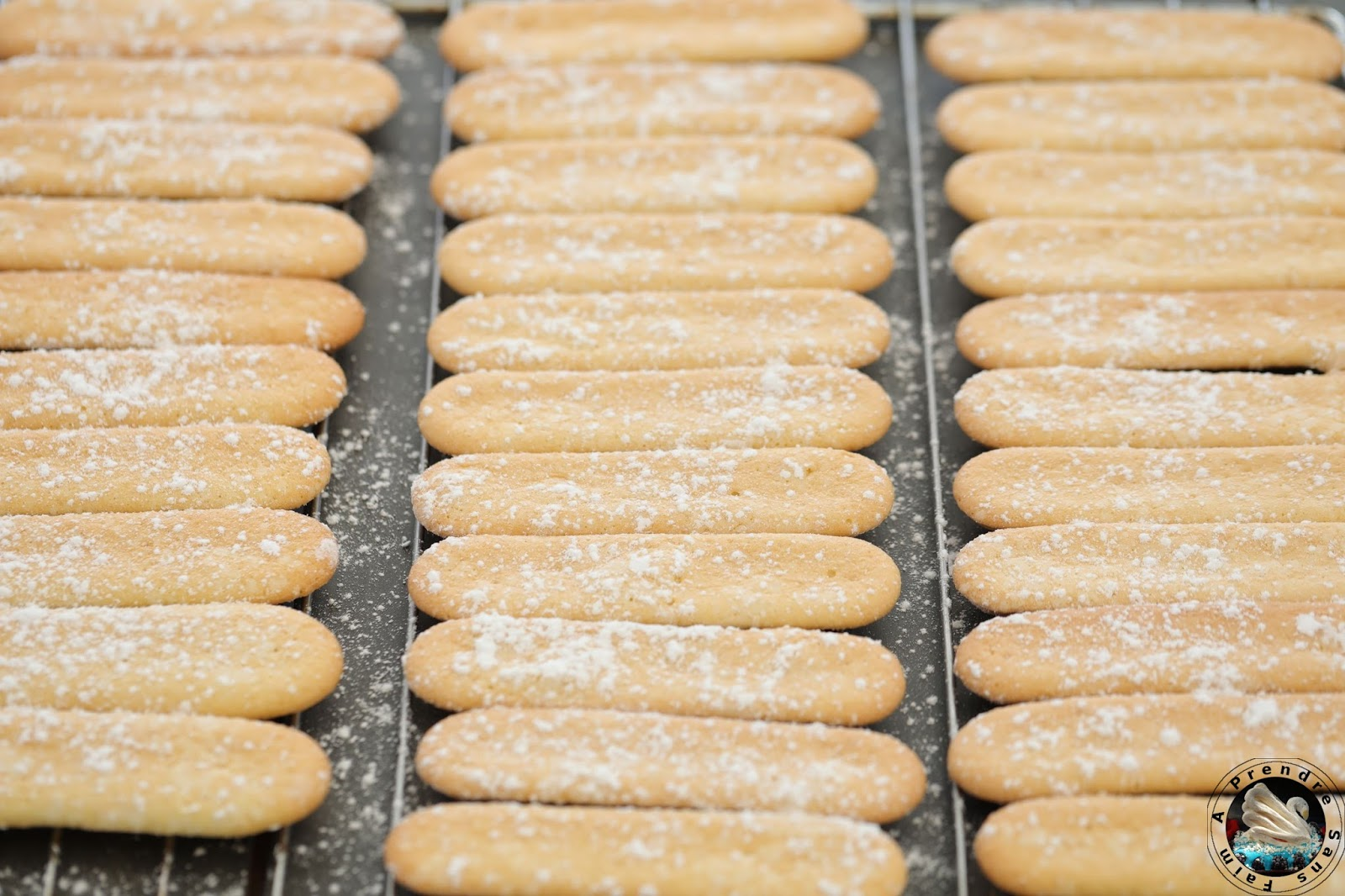 Boudoirs (biscuits à la cuillère) sans gluten