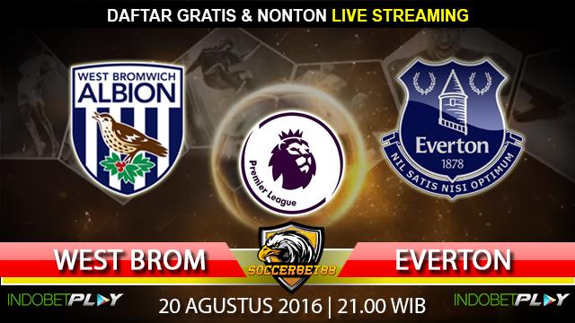 Prediksi West Brom vs Everton 20 Agustus 2016 (Liga Inggris)
