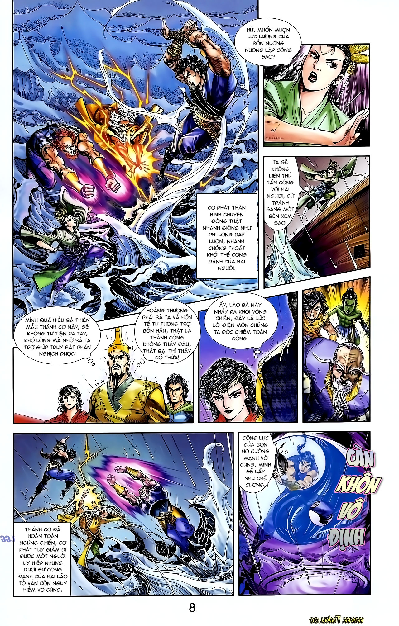 Cơ Phát Khai Chu Bản chapter 129 trang 4