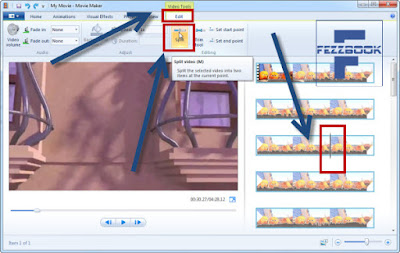 cara edit video dengan movie maker