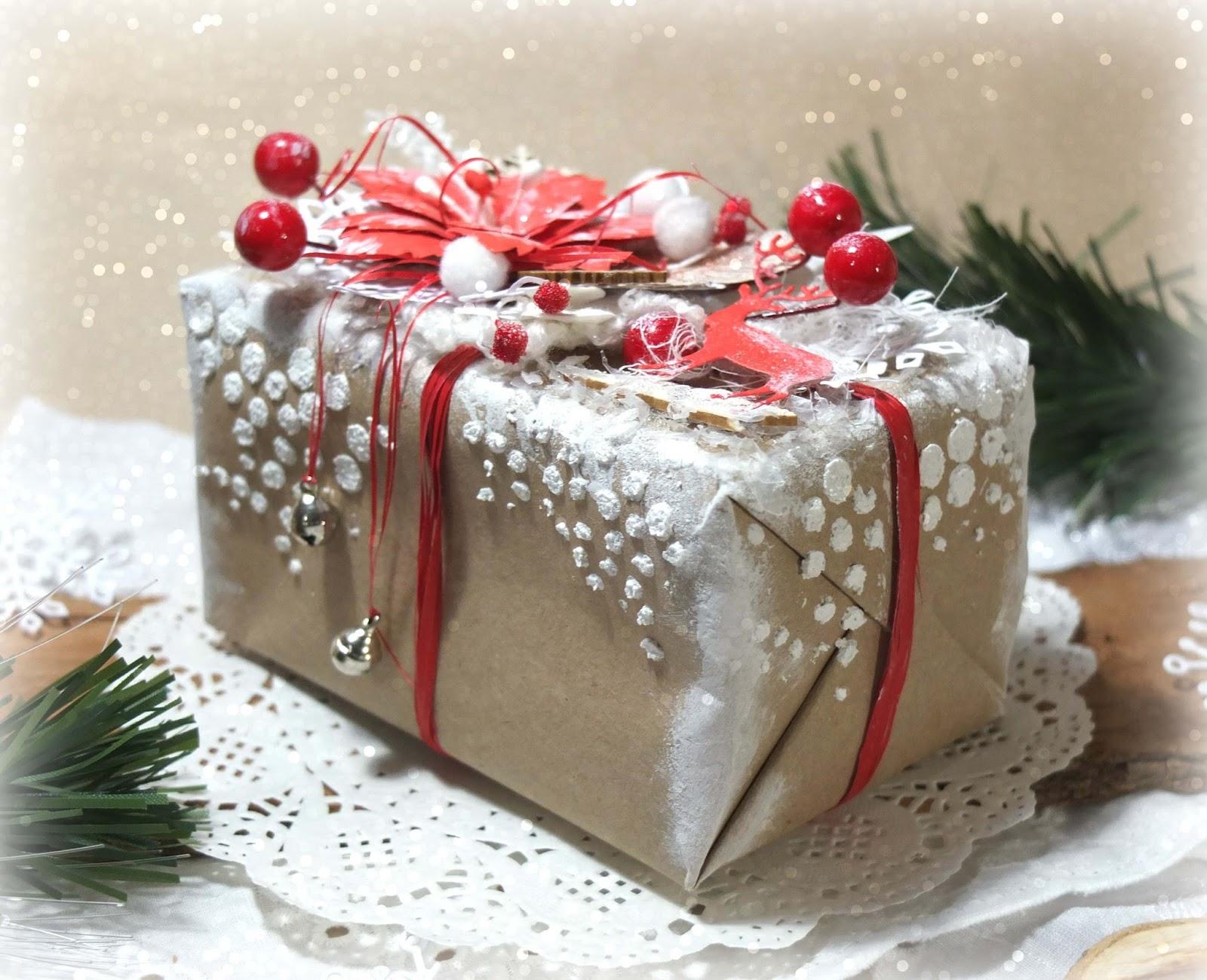 Новогодняя подарочная упаковка 98