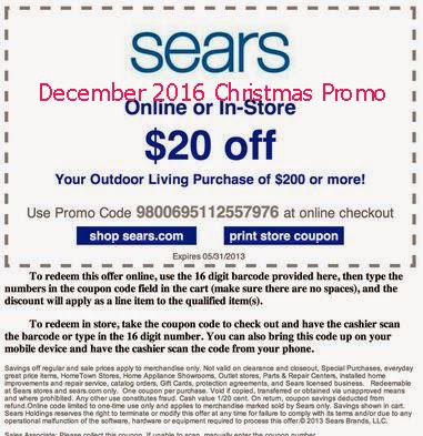 Sears coupon code 2019