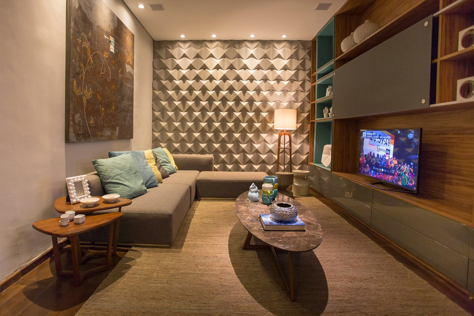 HOGARISIMO Decoracion de salas pequeas y modernas