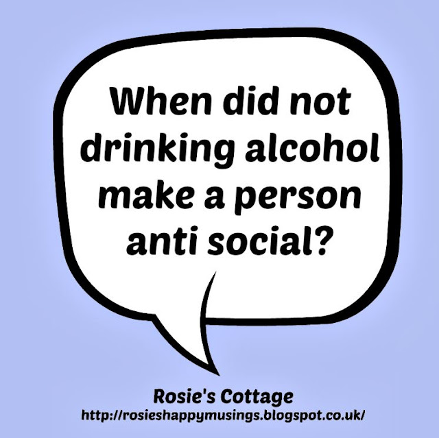 When did not drinking alcohol make a person anti social?