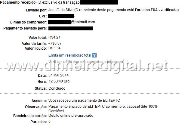 pagamento ptc elite