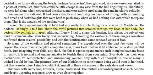 Anna Andress Page 129 Of Kate Mccann S Book