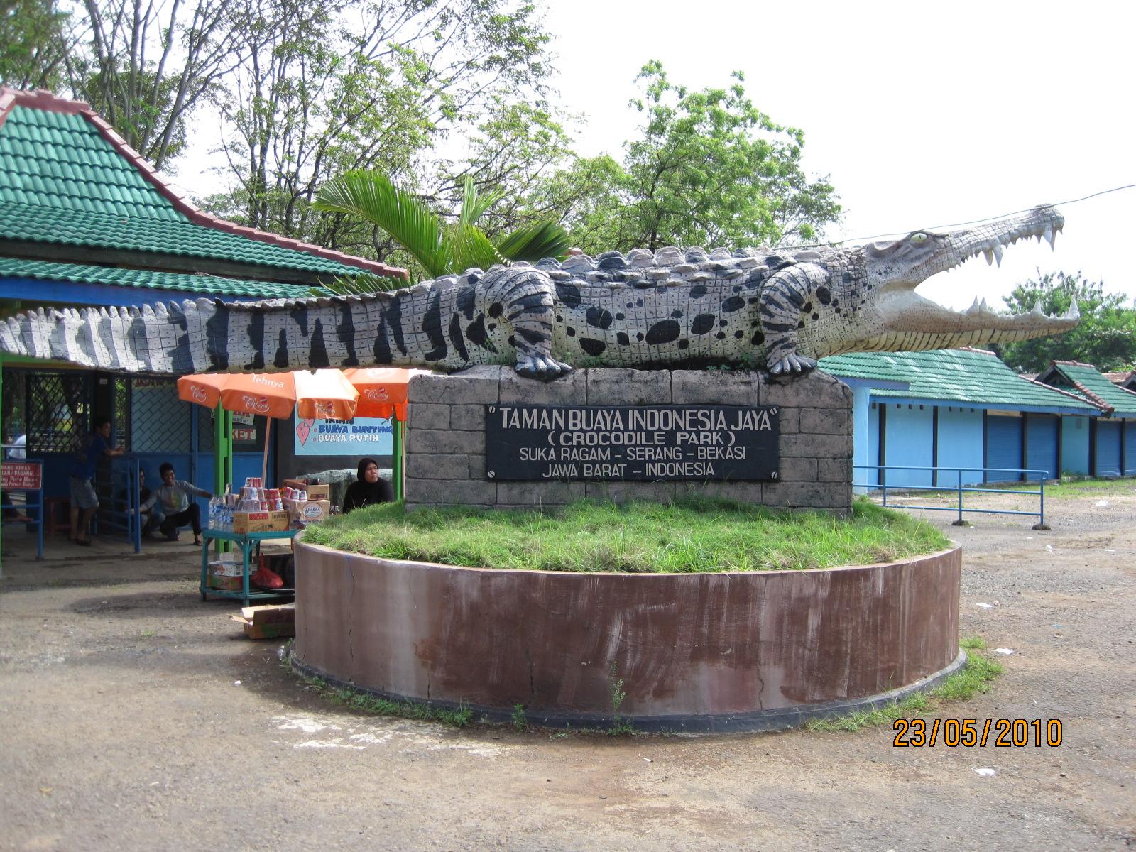 Taman Buaya di Cikarang