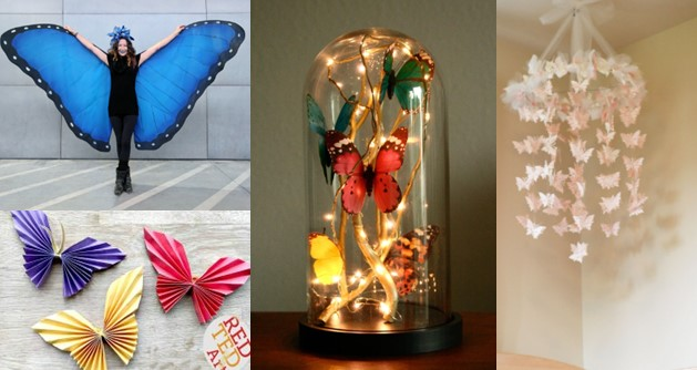 12 Colourfull Butterfly Crafts Must Seen You'll Like It!