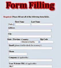form Online Form Filling Job In Mobile on