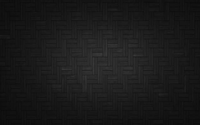 Zwarte wallpaper met lijnen en hokjes