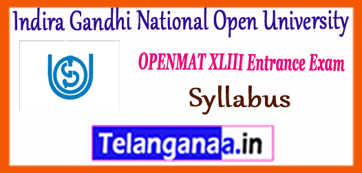IGNOU OPENMAT Indira Gandhi National Open University Syllabus 2018 Model Sample Previous Solved Ques papers